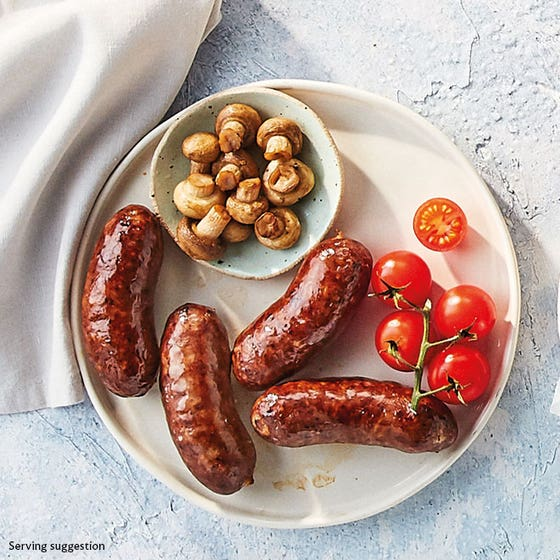 Traditional Butcher's Beef Sausages