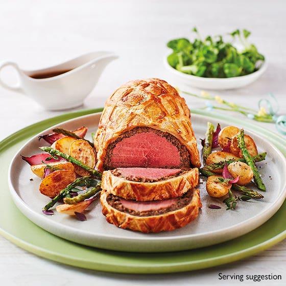 Beef Wellington with Truffle