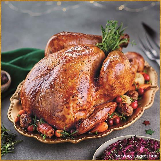 Free-range Bronze Turkey