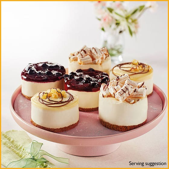 Cheesecake Selection