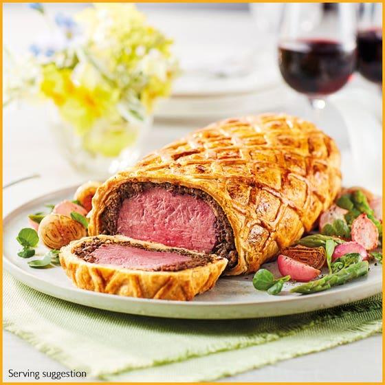 Beef Wellington Log