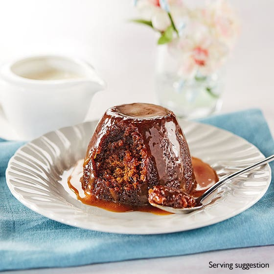 Sticky Toffee Puddings and Custard