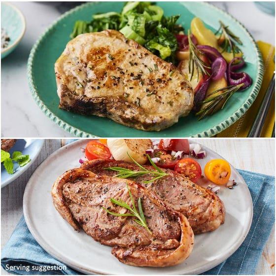 Pork Chops & Barnsley Lamb Chops
