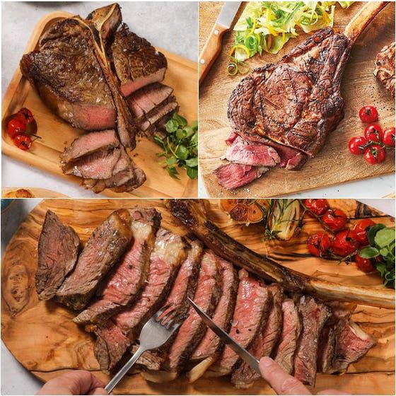 Luxury Steak Selection