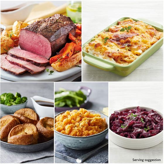 Beef Roast Dinner for 4