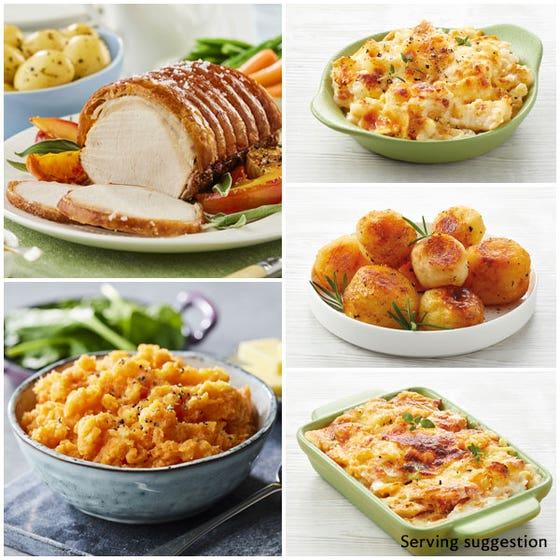 Pork Roast Dinner for 4