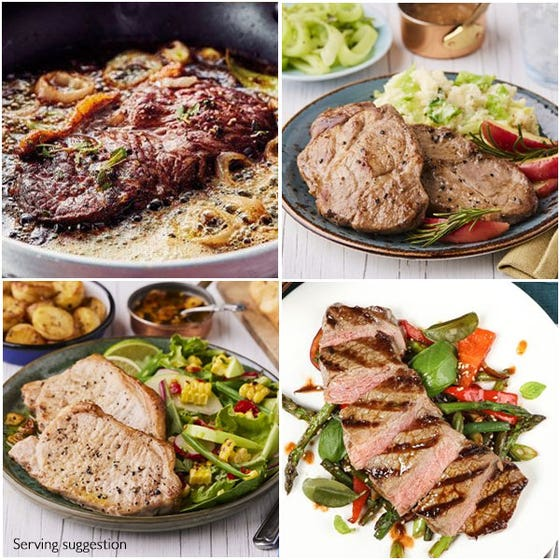 Thin Cut Steak Barbecue Feasts for 2