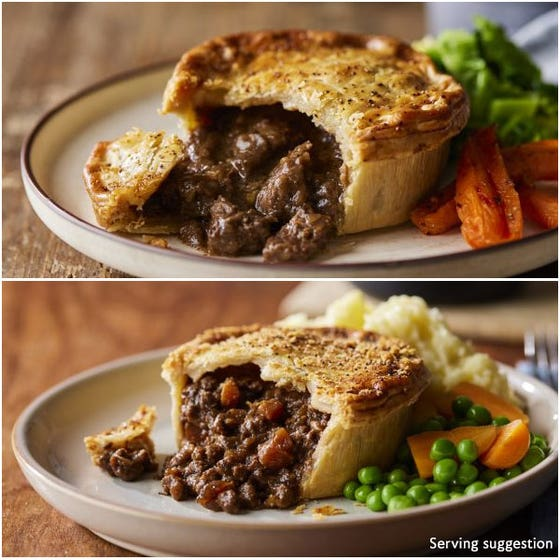 Half Time Pie Selection