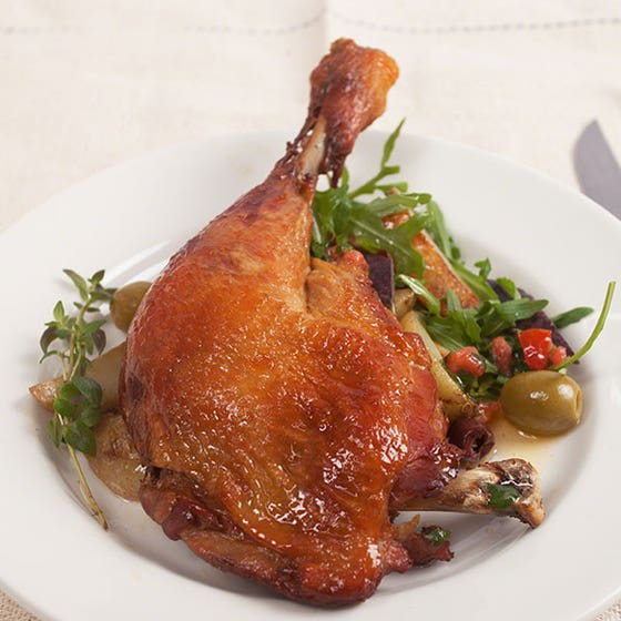 Slow Cooked Chicken Legs