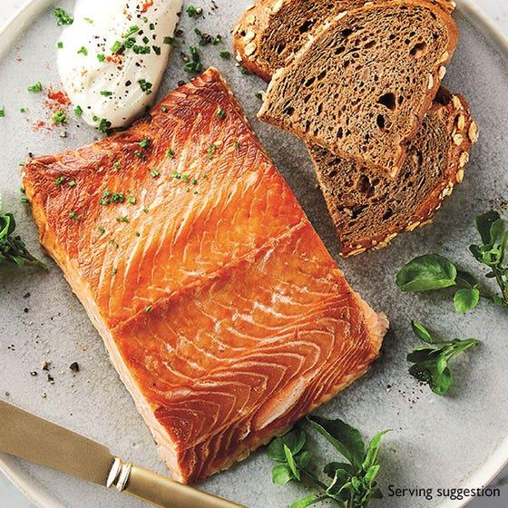Hot Roast Scottish Smoked Salmon