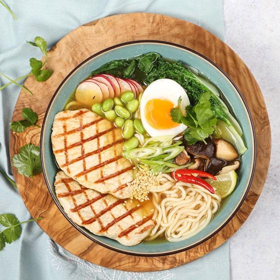 Japanese Pork Ramen in dish