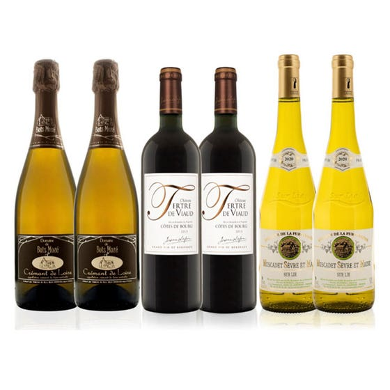 Red, White and Sparkling Wine Mixed Case