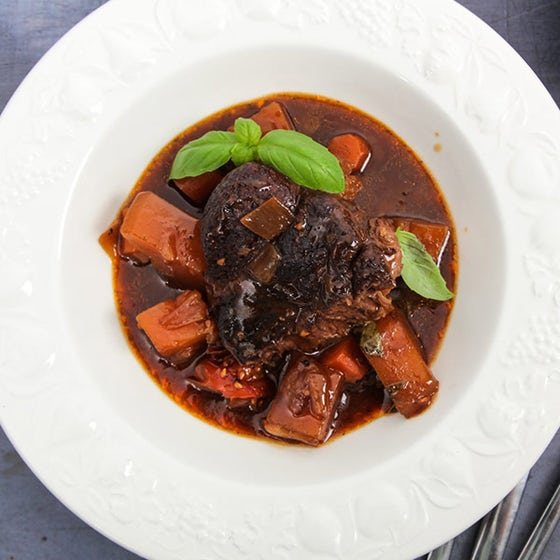 Oxtail with Guinness