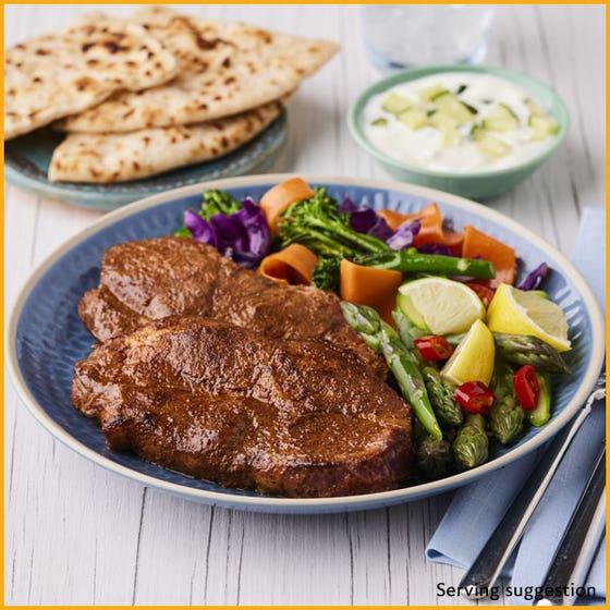 Thin Cut Barbecue Chilli Pork Shoulder Steaks