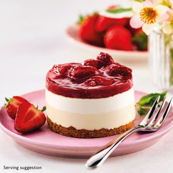 Strawberry Cheesecakes