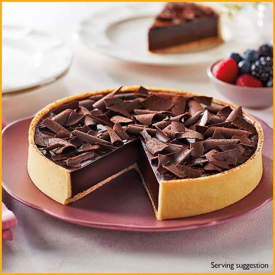 Rich Chocolate Ganache Tart