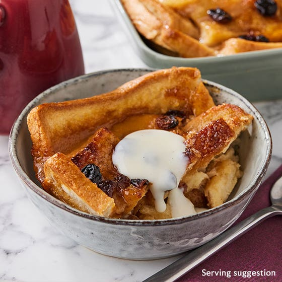 Toffee Apple Bread & Butter Pudding