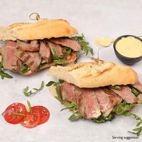 Sirloin Sandwich Steaks