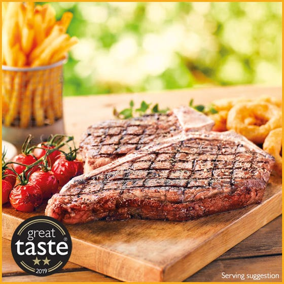 Dry Aged T-Bone Steaks