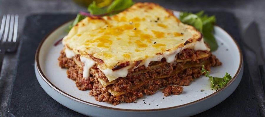 Chef-prepared Lasagne