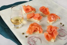 Smoked Salmon with Whisky