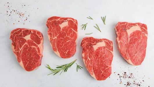 Ribeye Steak Blooming