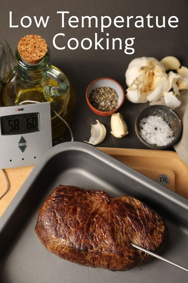 Low temperature cooking guide