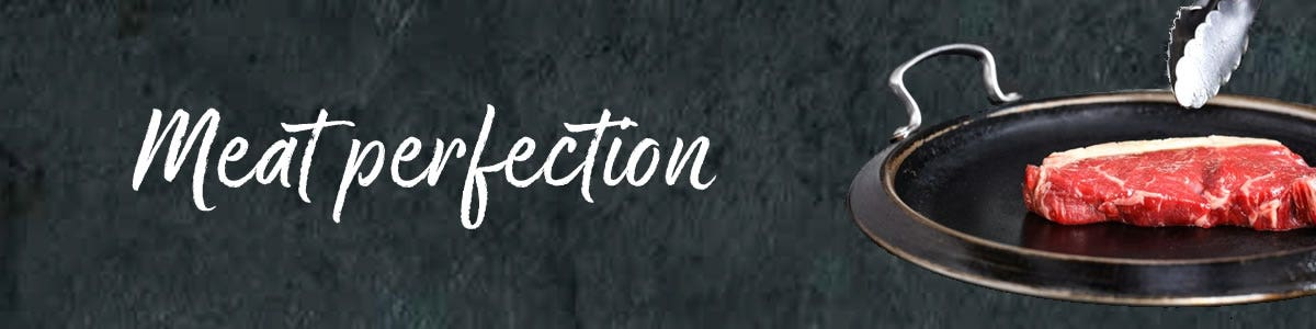 Meat perfection banner